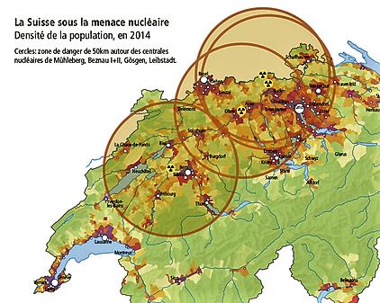Conséquences d'une catastrophe nucléaire en Suisse